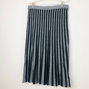 New Ann Taylor Knit Flounce Pencil Skirt